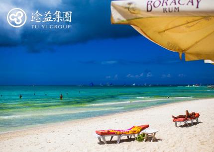 杭州直飞菲律宾长滩岛5天4晚自由行(含签证/接送机/离境税)